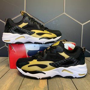 Fila Ray Tracer Black Gold Sneaker (MS)
